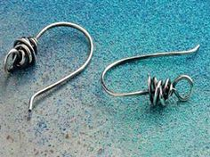 """lovely earring findings from """"Handcrafted Wire Findings"""""""