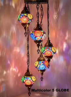 CopperBull (Choose from 12 Designs) Turkish Moroccan Mosaic Glass Chandelier Lights Hanging Ceiling Lamps Globes (d)) Moroccan Lighting, Moroccan Lamp, Moroccan Lanterns, Bohemian Lighting, Moroccan Furniture, Moroccan Bedroom, Moroccan Interiors, Moroccan Tiles, Kelly Wearstler