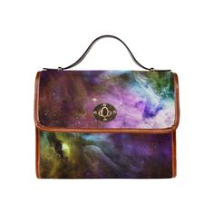 Orion Waterproof Canvas Bag/All Over Print (Model Great Gifts For Mom, Bag Making, Shoulder Bags, Elegant, Canvas, Model, Classy, Mathematical Model, Chic
