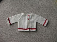 Ravelry: Paxton (Preemie and Newborn Jacket) pattern by StitchyMama