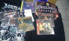 Terça tem Megadeth no Pepsi On Stage em POA. Temos ingressos, CDs, camisetas...  \m/