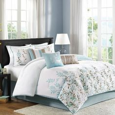 Meadow 6 Piece Duvet Set Size: King Madison Park http://www.amazon.com/dp/B00B7FLZ24/ref=cm_sw_r_pi_dp_eT2hub0GC081Q
