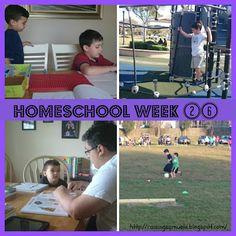 #Homeschool Week 26