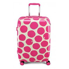 The ultimate Radley luggage for a Christmas market weekend away. Spot On, Medium Wheel Trolley Suitcase