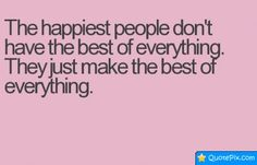 Secret about the happiest people :)