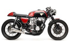 CB750 Cafe Racer by Dime City Cycles