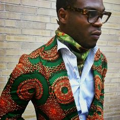 """African Prints in Fashion: Interview with menswear label Ikiré Jones: """"New and different interpretations of old stories"""""""