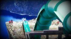 The Big Jump Water Slide!
