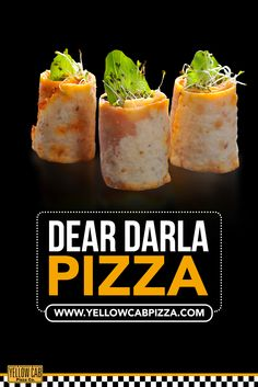 Get your all-time favorite Dear Darla at yellowcabpizza.com! Pizza Special, Yellow Car, Food, Essen, Meals, Yemek, Eten
