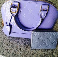 Brand: Louis Vuitton Color: Purple