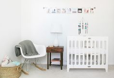 Living With Kids: Elle Rowley | Baby Frances's nursery