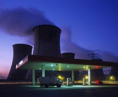 strahlungen:  Greg Girard – Petrol Station and Cooling Towers, Inner Mongolia, Bloomberg Markets Magazine. 2012