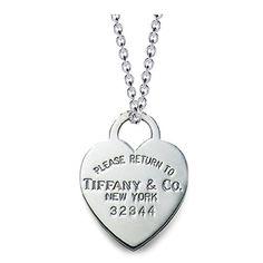 Tiffany Return to Tiffany Heart Tag Necklace