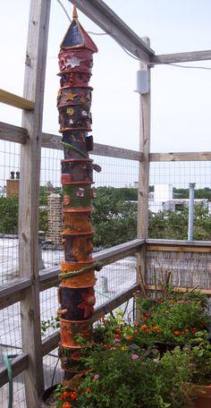 totem pole : student collaborative piece
