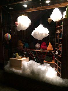 Cloud window display