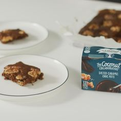 Salted Caramel Chocolate Brownies – Coconut Collaborative