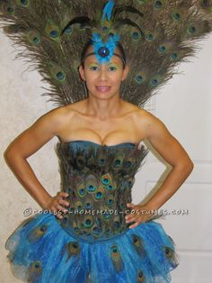 Sexy Peacock Costume ...This website is the Pinterest of costumes