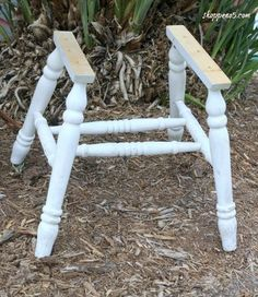 what can you make with an old chair