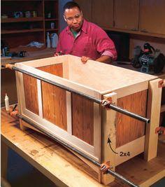 Mission Blanket Chest - Popular Woodworking Magazine