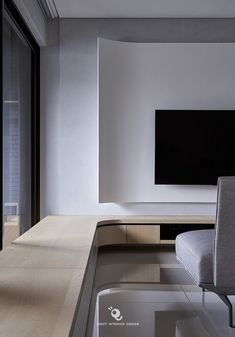 Tv Wall Design, House Design, Living Room Interior, Home Interior Design, Tv Feature Wall, Tv Console Modern, Curved Walls, Tv Furniture, Small Apartments