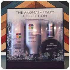 Pureology's Hydrate shampoo & conditioner holiday gift pack is only $60. Includes a travel size Colour Fanatic, a leave in conditioner, and a scented candle. Sweet deal!