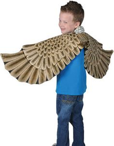 Black Friday Eagle Plush Costume Wings One Size Fits Most with 52 inch Wingspan from Rhode Island Novelty Cyber Monday Owl Wings, Eagle Wings, Eagle Bird, Bald Eagle, Dress Up Costumes, Baby Costumes, Costume Ideas, Bird Wings Costume, Bird Costume Kids