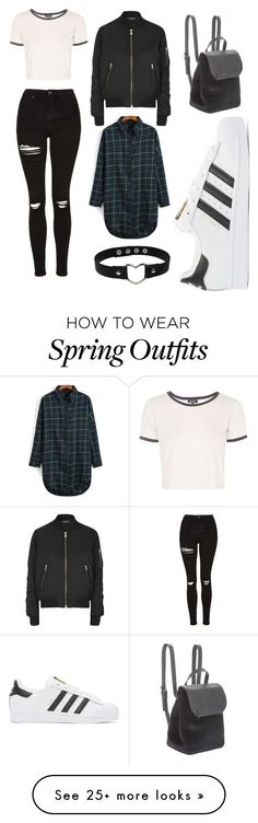 """spring #19"" by tinylandaas-1 on Polyvore featuring Topshop, BCBGeneration and…"