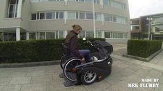 Huka Pendel - Rolstoel scooter - Wheelchair scooter
