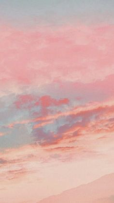Pink Clouds Wallpaper, Scenery Wallpaper, Pink Wallpaper Iphone, Iphone Background Wallpaper, Aesthetic Pastel Wallpaper, Aesthetic Backgrounds, Galaxy Wallpaper, Aesthetic Wallpapers, Tumblr Wallpaper