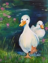 Image result for paint nite cat water