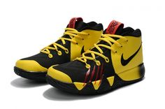 941baeb5fca2 Authentic Kyrie 4 Nike Bruce Lee Tour Yellow Black New Fila Shoes