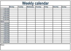 Printable Day Calendar With Times To make a detailed plan you have to make a break down of your activities from annual, monthly, weekly, daily and even you have to write it in an hour. Free Printable Weekly Calendar, Weekly Calendar Template, Online Calendar, Kids Calendar, Printable Planner, Calendar Printing, Printable Calendars, Printables, Day Schedule