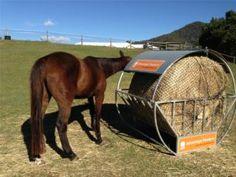 round bale feeder for horses - Recherche Google