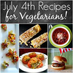 vegetarian recipes 4th of july