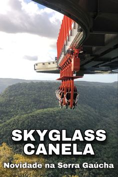 O Skyglass Canela é a grande novidade da Serra Gaúcha: maior plataforma suspensa do mundo com possibilidade de dupla contemplação. #gramadoecanela #serragaucha