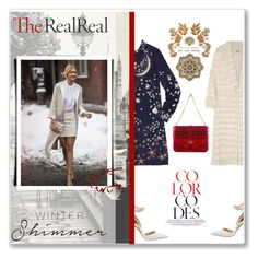 """""""Holiday Sparkle With The RealReal: Contest Entry"""" by tatyana320493 ❤ liked on Polyvore featuring Mode, Manolo Blahnik, ADAM, Valentino, holidaystyle und TheRealReal"""