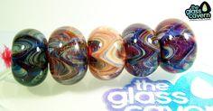 Handmade Borosilicate Glass Beads by TheGlassCavern on Etsy
