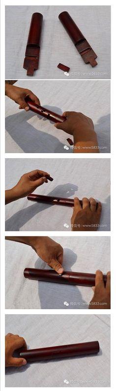 1. Wedge nail tenon