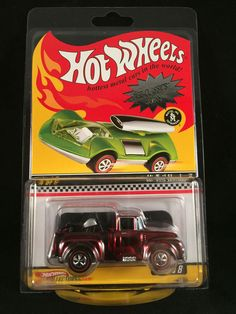 2009 Hot Wheels Redline Club RLC Series 8 Neo Classics HI TAIL HAULER 56 Ford  #HotWheels #Ford