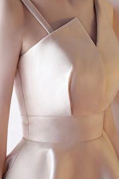 A-Line Deep V-Neck Straps Short Sleeveless Khaki Homecoming Dress TR0190