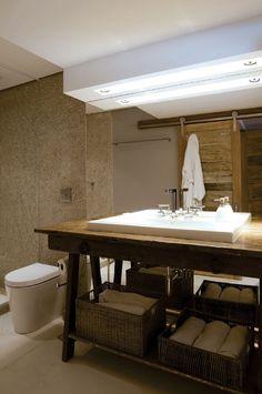 Elementos de madeira são destaque em prêmio para banheiros - Casa e Decoração - UOL Mulher