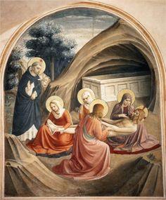 Lamentacion por Cristo- Fra Angelico- WikiPaintings.org