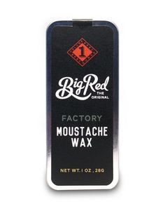 Big Red Moustache Wax -Factory