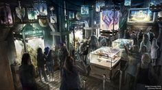 Concept Art For GUARDIANS OF THE GALAXY Disney Ride, Which is Replacing Tower of Terror — GeekTyrant