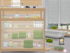 Home Spa 2 Set by DOT at TSR • Sims 4 Updates