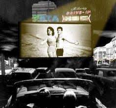Boulevard Drive Drive In Theater, Cinema, Urban, How To Plan, Movie Posters, Life, Raffaello, Movies, Drive Inn Theater
