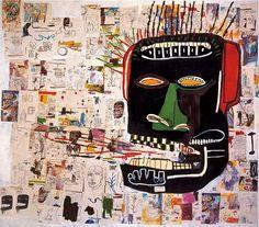 Master Artist. Jean Michel Basquiat. #jeanmichelbasquiat http://www.widewalls.ch/artist/jean-michel-basquiat/