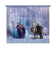 Vorhänge für das Kinderzimmer einer echten Prinzessin. Frozen | Eiskönigin