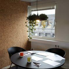 Kork vegg fra WALL-IT forbedrer akustikk og gir et trendy uttrykk Table Decorations, Interior Design, Wall, Furniture, Home Decor, Mood, Nature, Nest Design, Decoration Home