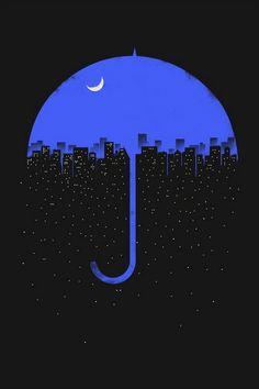 福美楽 fukumiraku — 1000drawings: Looks like rain